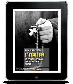 L'Italien – Le Confessionnal des pénitents noirs de AnnRadcliffe