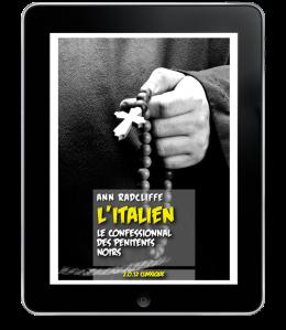 L'Italien - le Confessionnal des pénitents noirs de Ann Radcliff