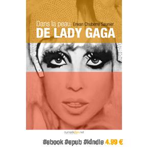Dans la peau de Lady Gaga par Erwan Chuberre Saunier –4.99€